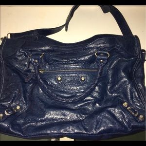 Gorgeous Blue Balenciaga bag